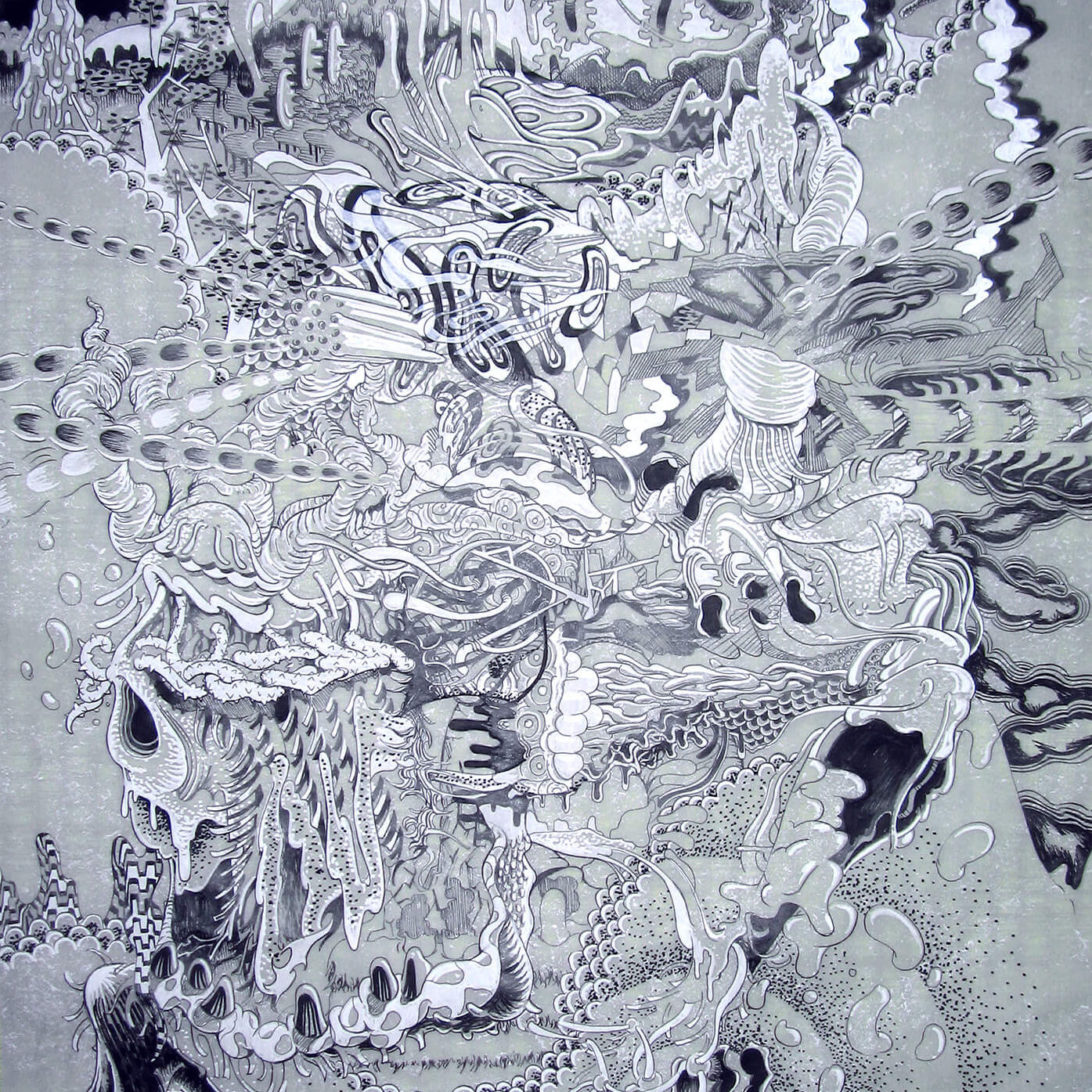 GAS Drawing | Ink on tracing paper 840×605 (mm) 2009