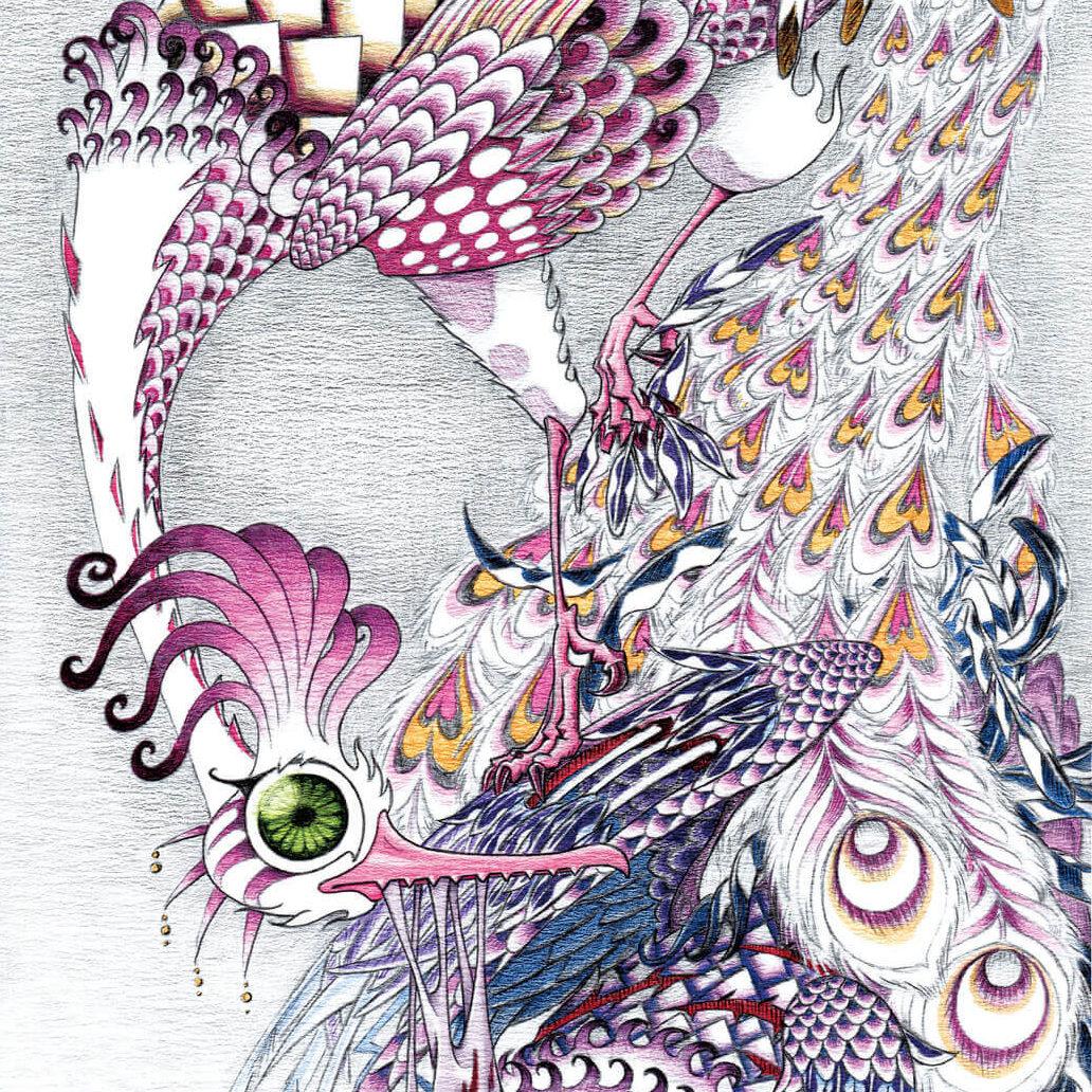 共喰鳳凰図 -Phoenix Cannibalism-
