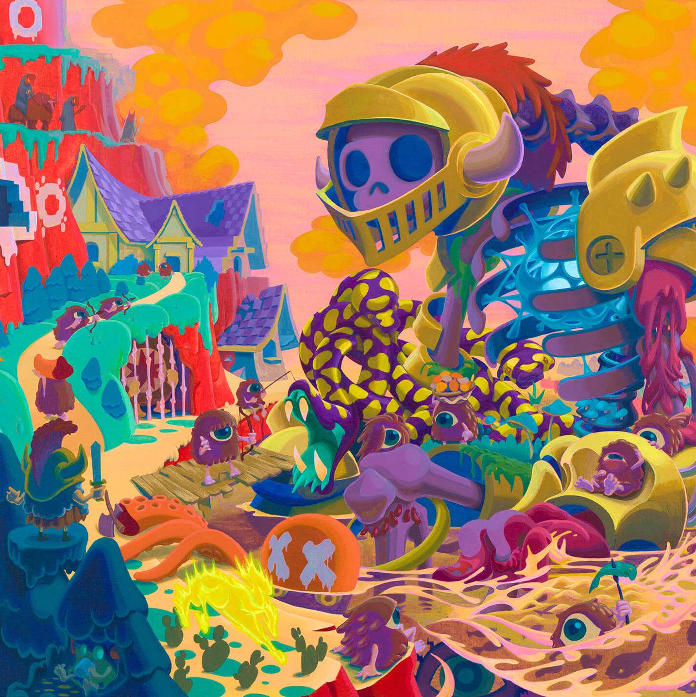 いにしえ -INISHIE- | Acrylic on canvas 606×803 (mm) 2020